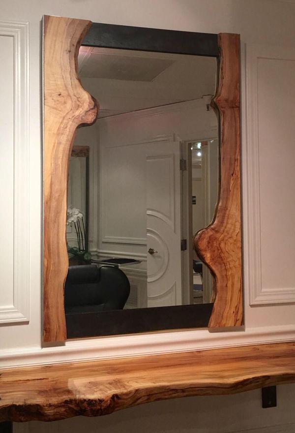 espelhos quarto rústico