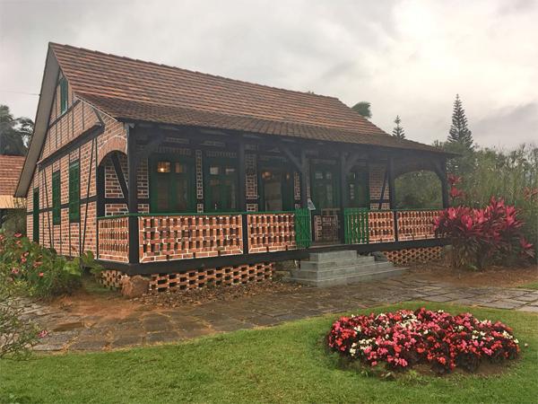 casa alemã em Pomerode