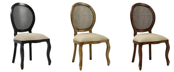 Cadeira Luis XV Medalhão