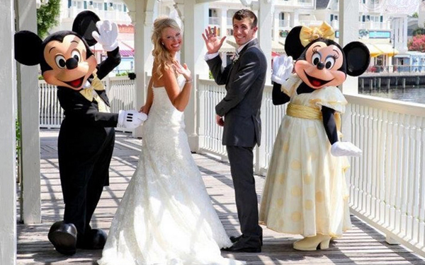 casamento disney temático
