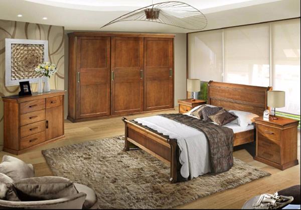quarto com estilo rústico