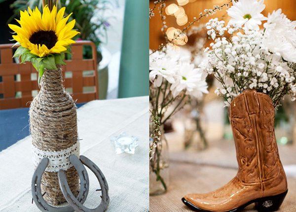 Flores casamento country