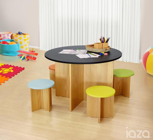 Conjunto mesa infantil para desenho Lucca