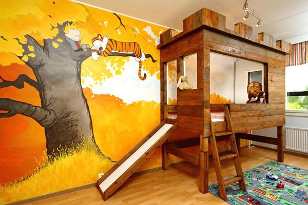 quarto de criança criativo
