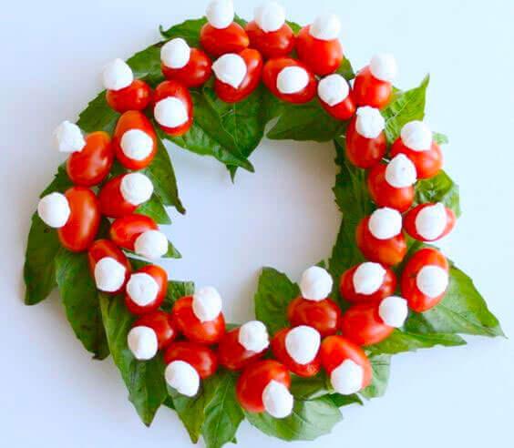ceia de Natal criativa