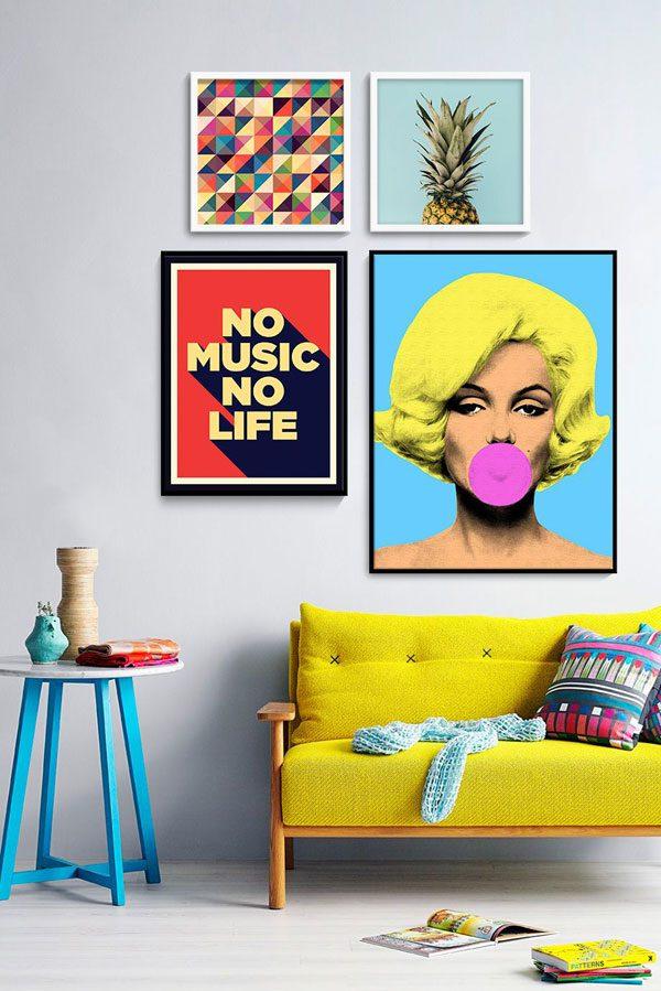 Design Pop Art na decoração