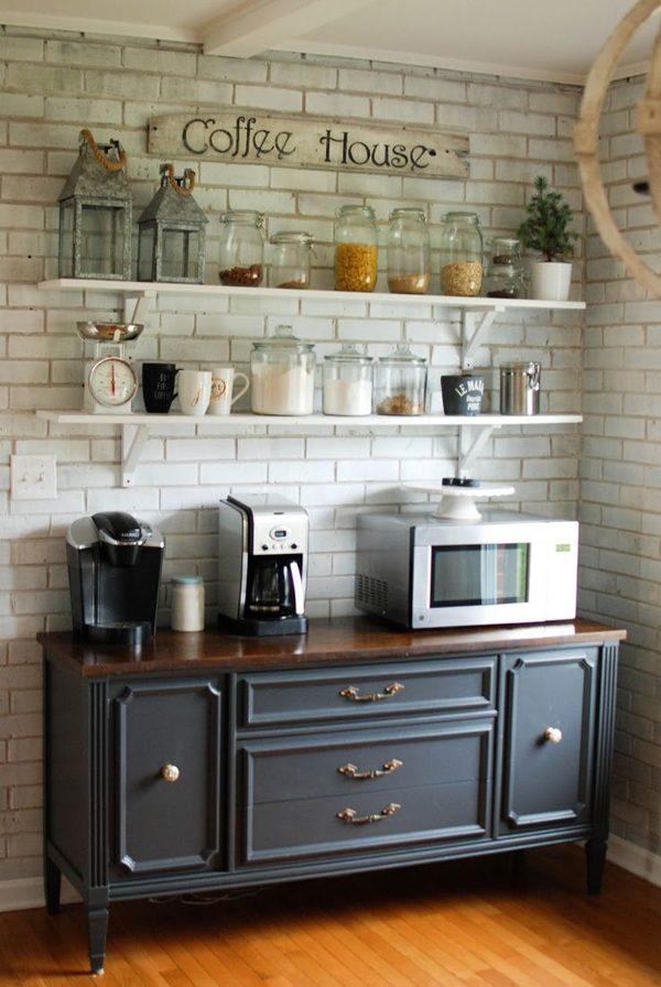 Cômoda na cozinha