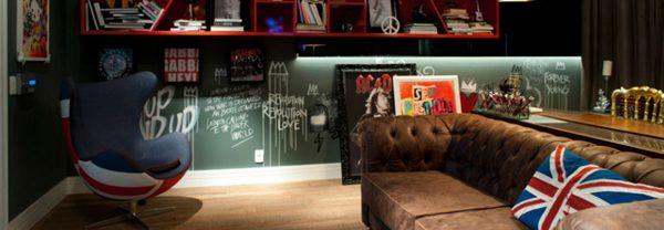 Design de sala cool