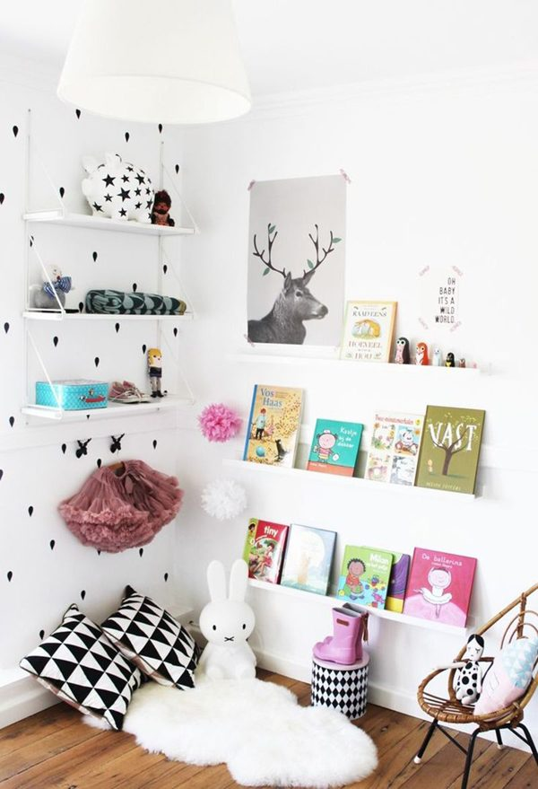 Decoração cool em quarto infantil