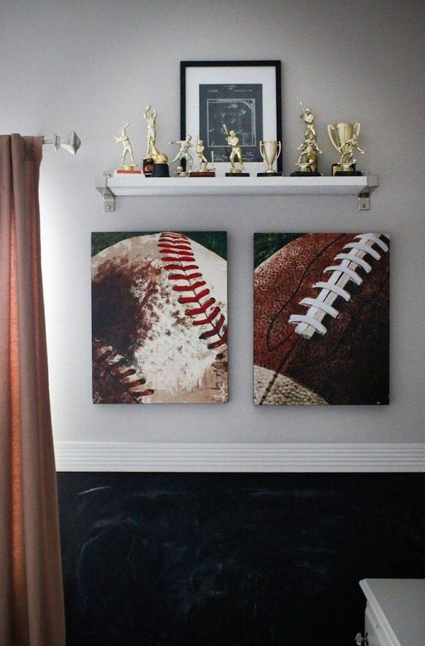 Esportes na decoração cool