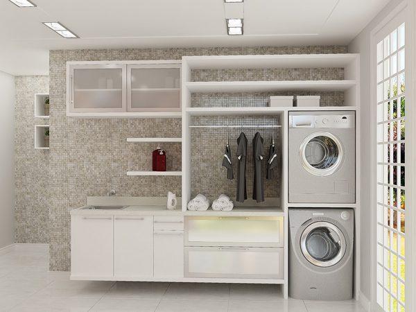 Como escolher piso para lavanderia