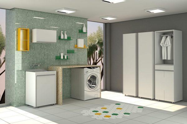 Como escolher piso para área de serviço