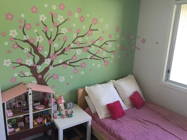 Adesivo quarto montessoriano