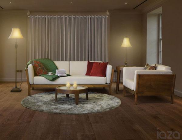 sofá na decoração da sala de tv