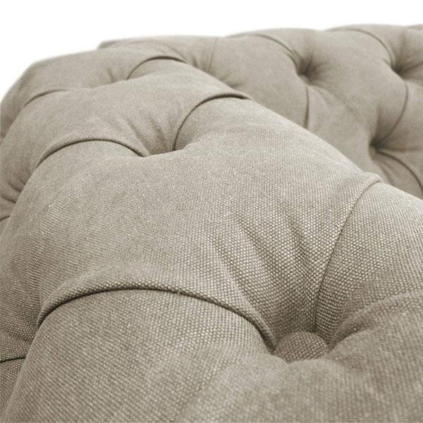 sofá com tecido lona