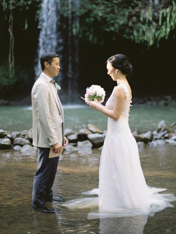 Elopement wedding Ilha Maui