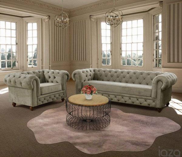 veludo para sofá