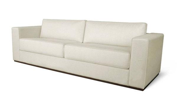 sofá em tecido linho