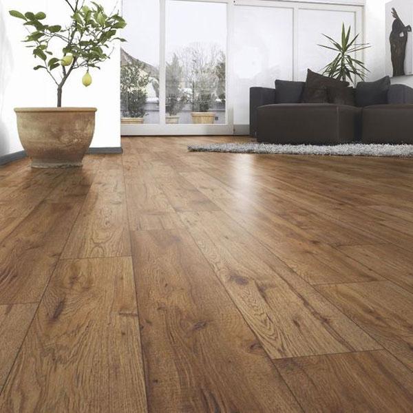 piso de madeira na decoração