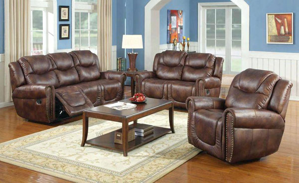 sofa de couro legítimo