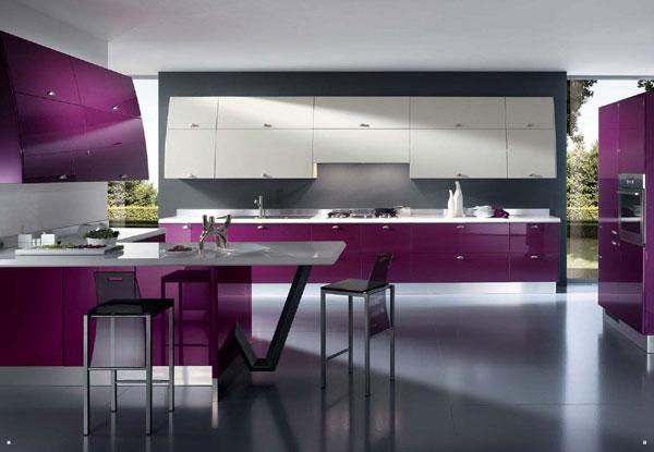 estilo futurista na cozinha
