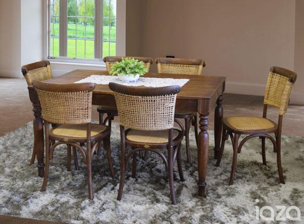 mesa de jantar para casa de campo