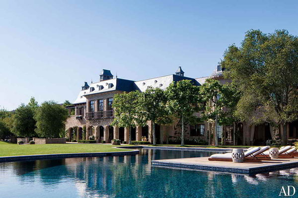 piscina da mansão da Gisele Bundchen