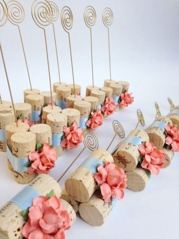 lembrancinha de casamento living coral