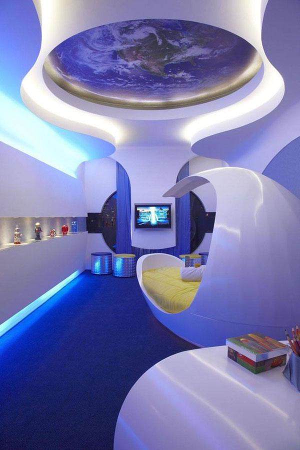 decoração futurista iaza blog