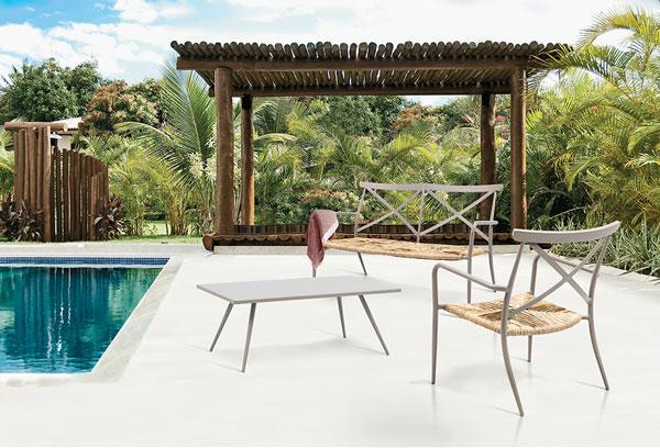 móveis de jardim