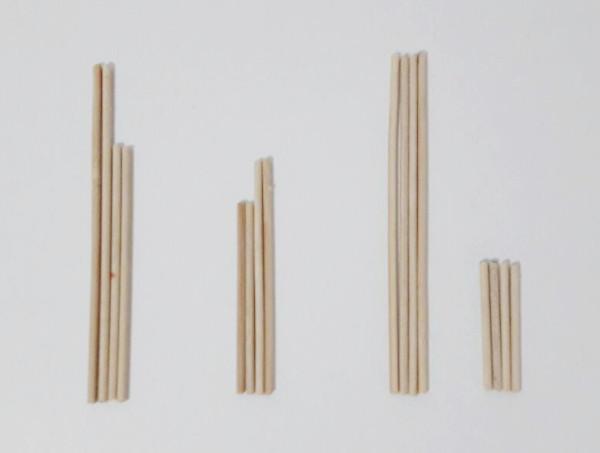 medidas para decoração de palitos