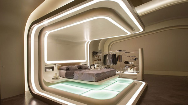cama flutuante