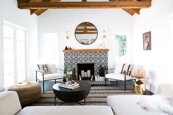 paredes brancas no estilo espanhol