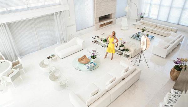 Sala de estar Ana Hickmann