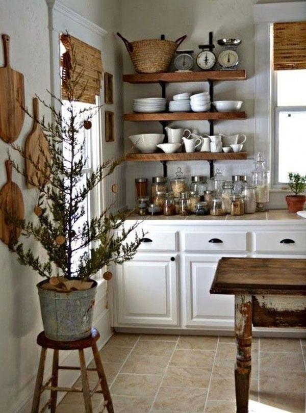 móveis para cozinha de fazenda