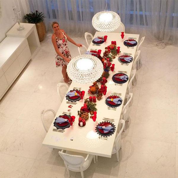 sala de jantar Ana Hickmann