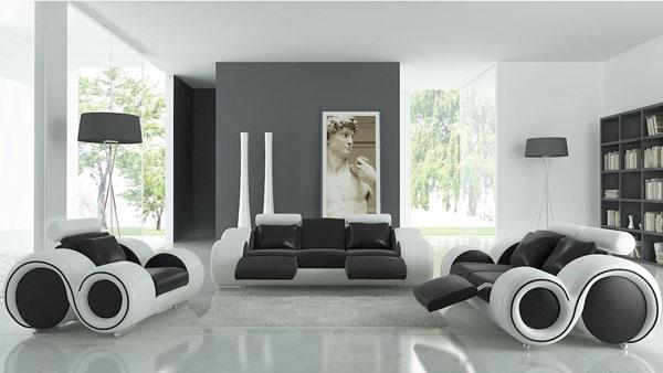 mobília futurista