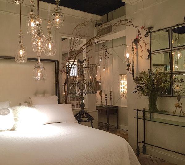 luminárias no quarto hygge