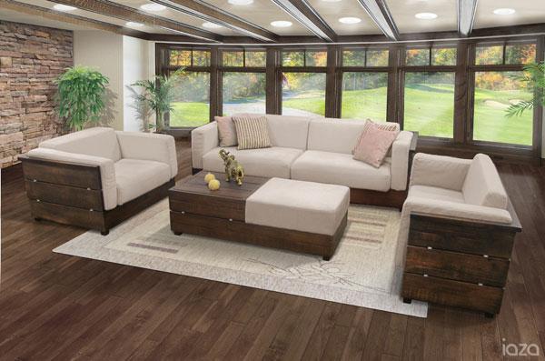 sofás para casa de campo