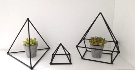 decoração com palitos de churrasco