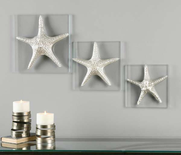 estrela do mar na decoração