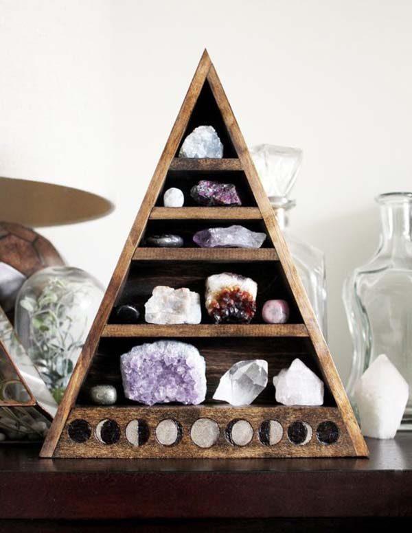 cristais naturais na decoração feng shui