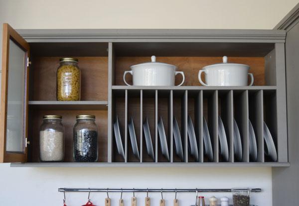 móveis para cozinha com divisórias internas