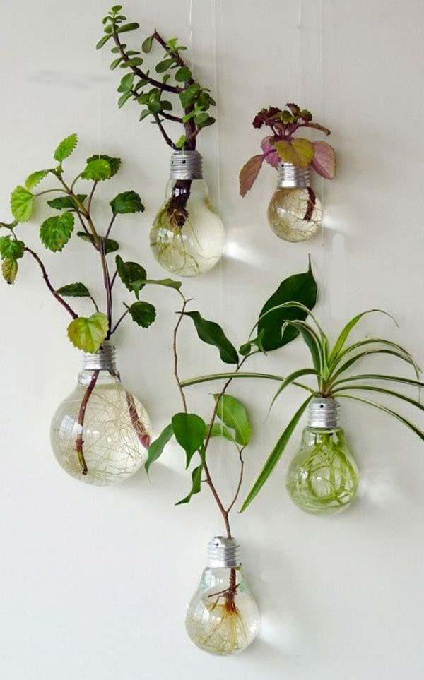 Decoração reciclável