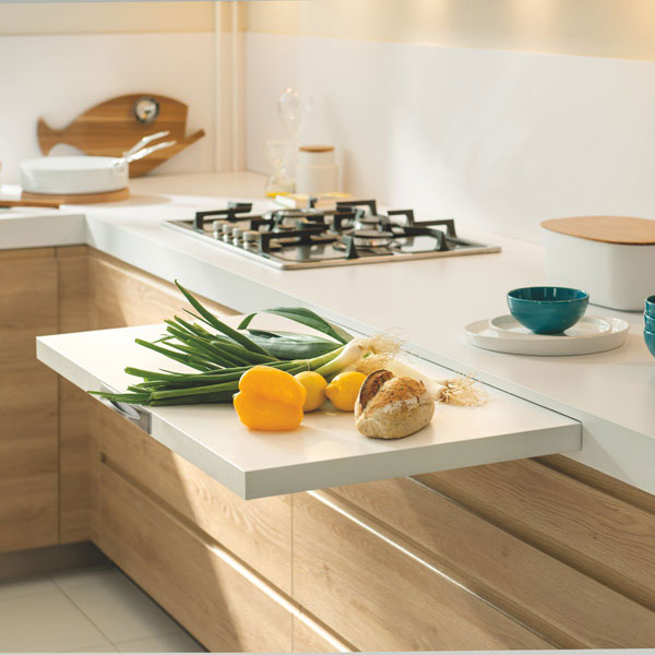 móveis extensíveis na cozinha