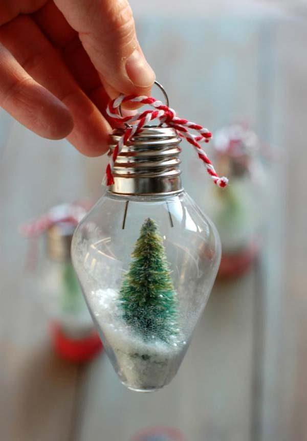 lâmpada queimada na decoração