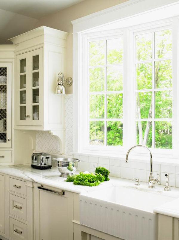 iluminação natural na cozinha