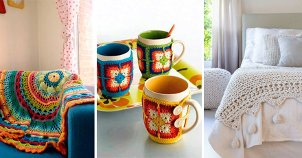 Como usar crochê na decoração da sua casa