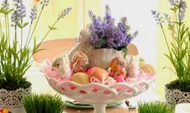 5 passos para decorar a mesa de Páscoa