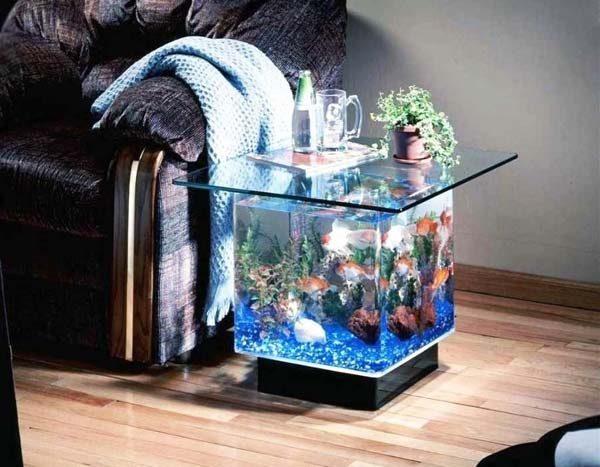 mesinha lateral de aquário